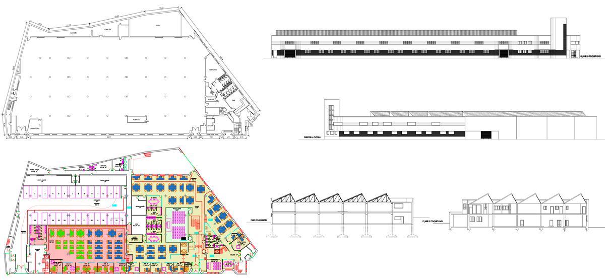 memorias-tecnicas-documentaciones-Edificio-Parque-Sur-Madrid-Paseo-Chopera-41-estudios-obra-plantas-secciones-proyecto