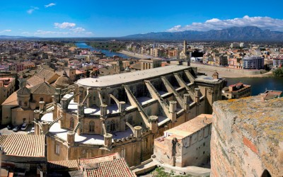 Cubierta de la Capilla del Santo Cristo Catedral de Tortosa