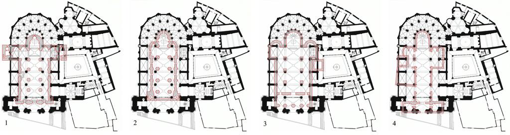 estudios-de-obras-catedral-de-tortosa-superposicion-plantas-documentaciones