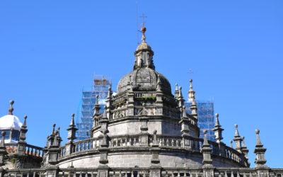 El cimborrio de la Catedral de Santiago de Compostela