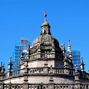Restauración del cimborrio de la Catedral de Santiago de Compostela