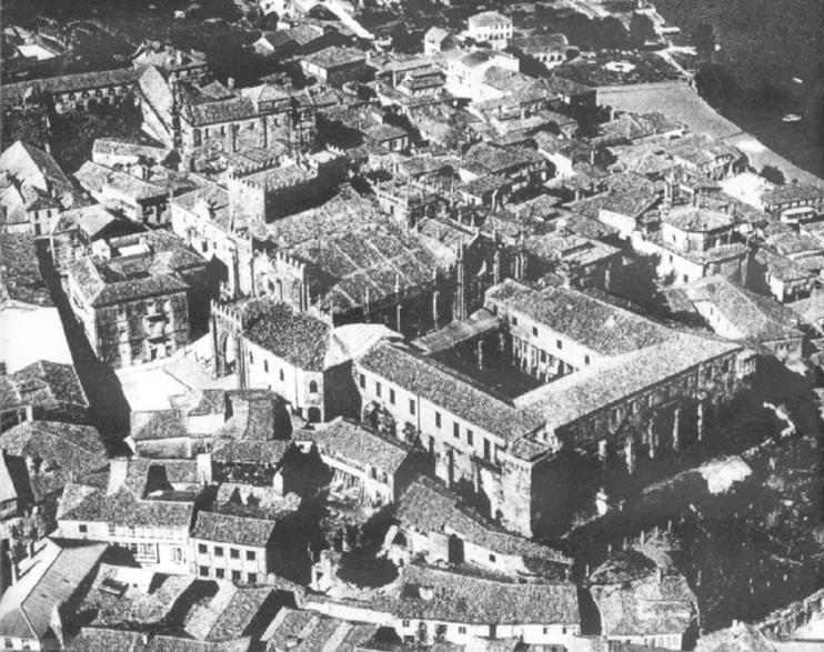 estudio-de-obras-catedral-tui-palacio-episcopal-licitaciones-aerea-1963