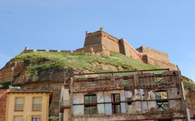 Obras de consolidación y restauración del Castillo de Monzón