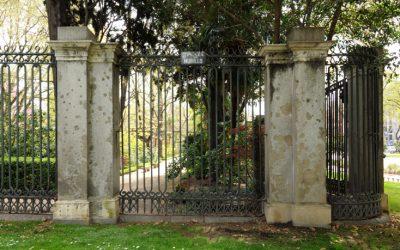 Ajardinamiento y cerramiento histórico del Real Jardín Botánico