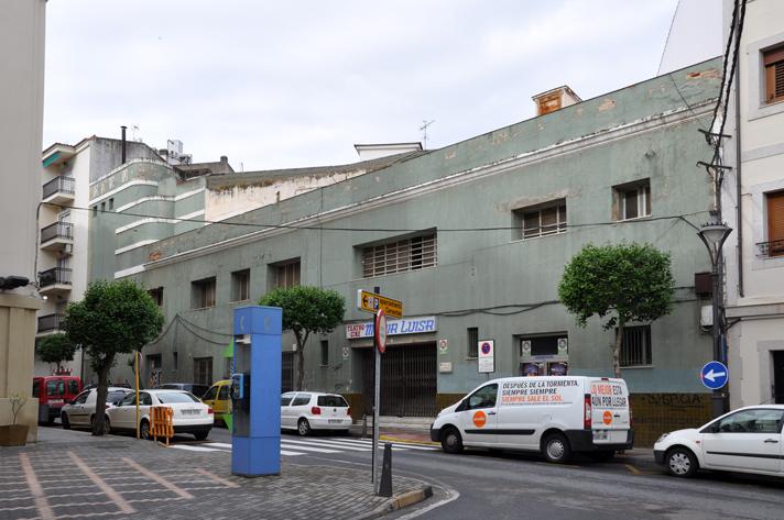 Fachada del Teatro María Luisa de Mérida