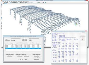 Proceso de cálculo en una estación de trabajo para modelado 3D BIM con SAP2000