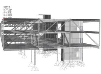Interfaz de una estación de trabajo para modelado 3D BIM con SAP2000