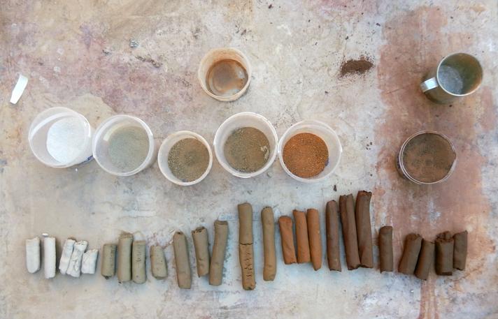 La tapia: técnica constructiva, restauración y puesta en valor: prueba del churro