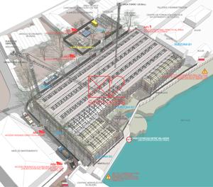 Memorias técnicas para licitaciones rehabilitación de la Nave de Espoletas en Toledo