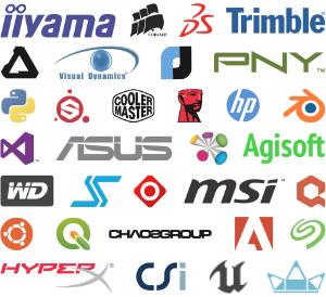 Alto nivel gráfico 3D y 2D, programas y equipo para memorias técnica licitaciones